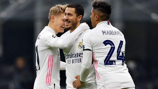 Футболист «Реала» Азар восстановился от травмы и сможет сыграть с «Аталантой»