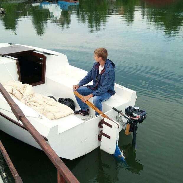 Яхта своими руками. От проекта до спуска