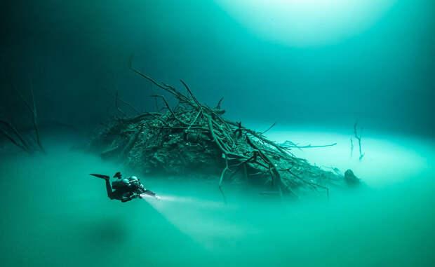 Анхелита: река, которая течет под водой