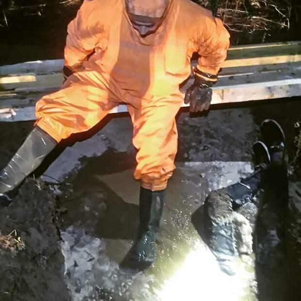 Найденного в выгребной яме в Ижевске мужчину искали несколько месяцев