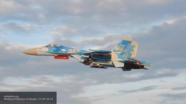 Украину подняли на смех за постановочный ролик о мастерстве летчиков Су-27