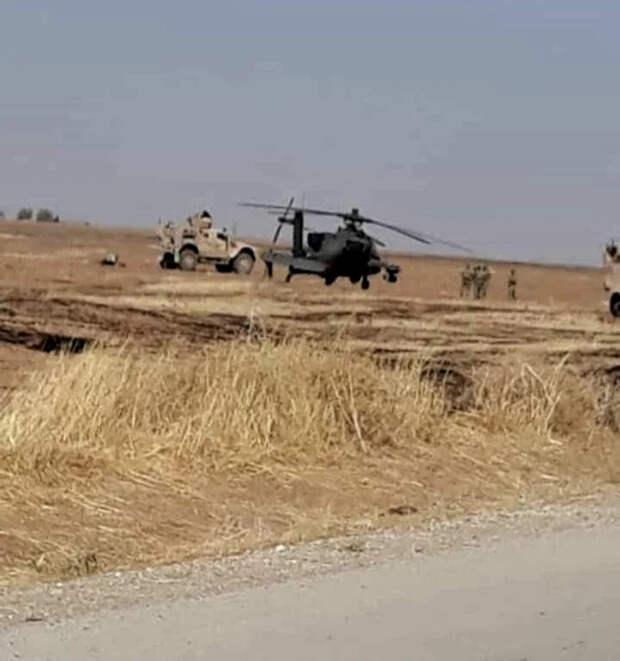 Российская система РЭБ посадила вертолет США AH-64 Apache в Сирии
