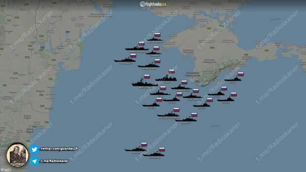 Украина вчистую проигрывает России на Черном море даже с турецкими корветами