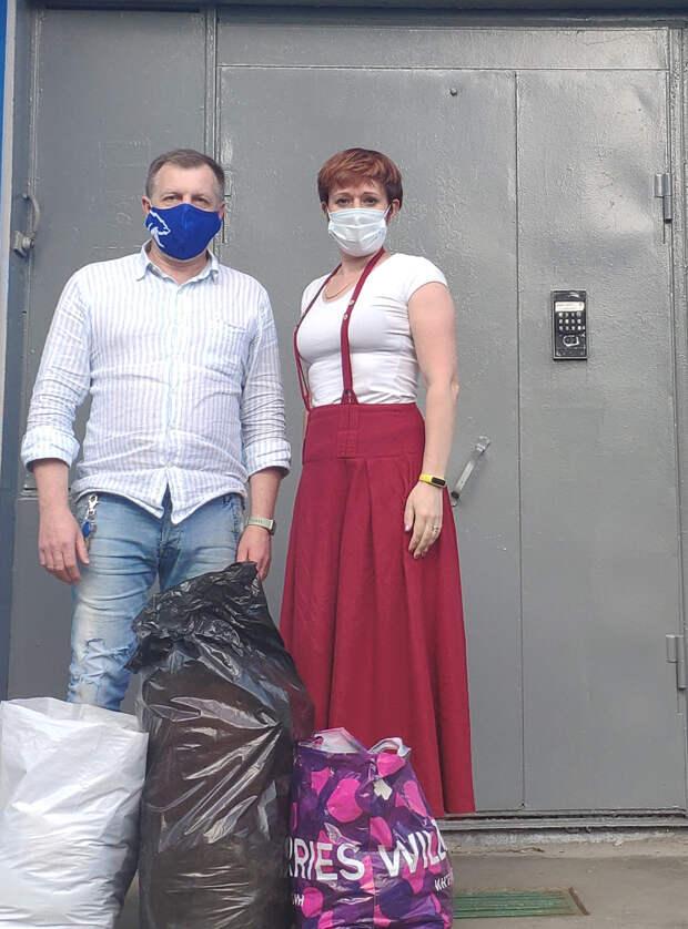 Волонтёры из «Команды СВАО» начали свою работу с первой волны пандемии