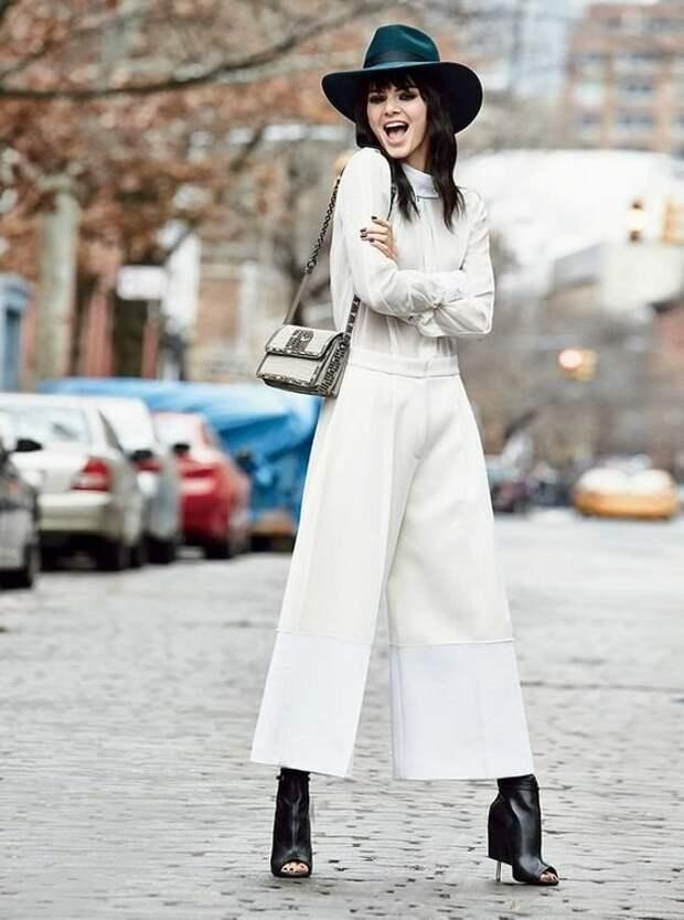 Этой осенью модницы меняют юбки на брюки-кюлоты. Так же женственно, но гораздо удобнее