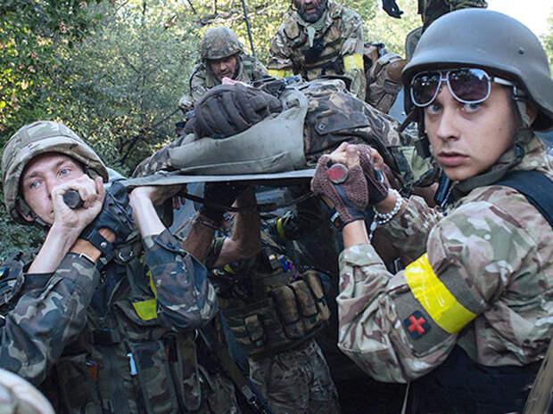 Украинская армия потеряла на Донбассе роту