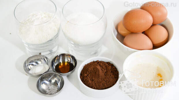 Сочный Шоколадный Бисквит фото к рецепту 2