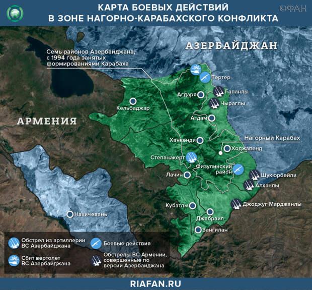 Осташко: Баку воспользовался ошибками Пашиняна, чтобы попытаться вернуть Карабах