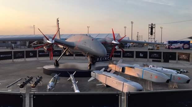 Турция испытывает третий прототип ударного БПЛА Bayraktar Akinci с украинскими двигателями
