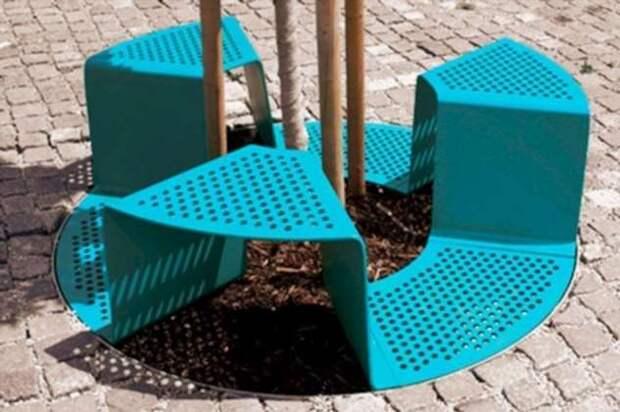 Все для людей: 20 мегакрутых оригинальных скамеек, которые должны украсить каждый город (22 фото)