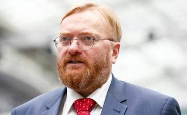 На фото: депутат Государственной думы Виталий Милонов