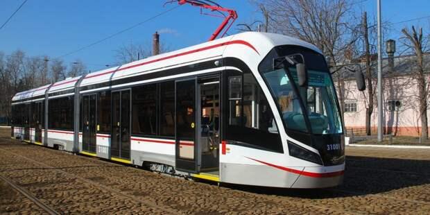 В Коптеве с 3 июля по выходным приостанавливается движение трамваев