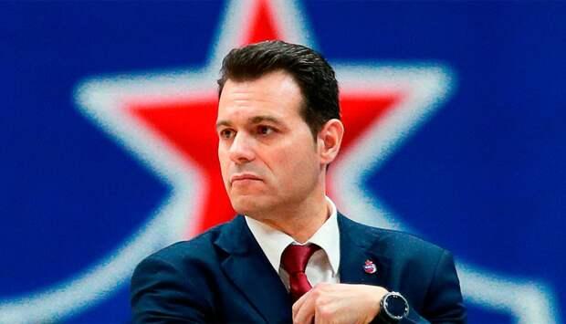 Тренер ЦСКА Итудис: «Сегодня мы провели одну из худших игр с точки зрения нападения»