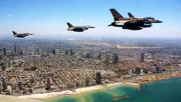 ВВС Израиля атаковали штаб разведслужбы ХАМАС в секторе Газа