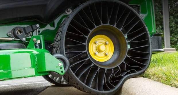 Безвоздушные шины: перспективный курьез