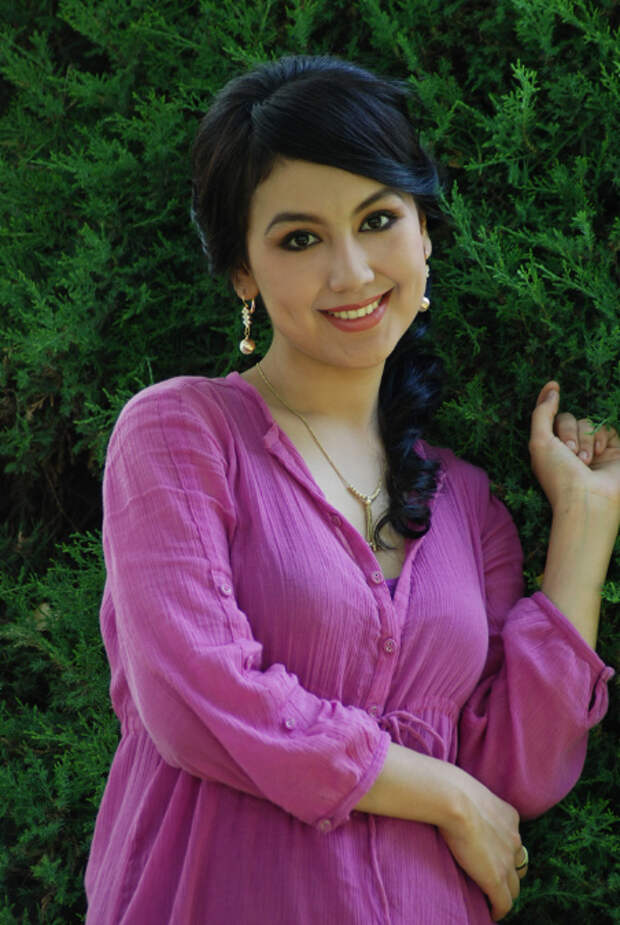 Дильноза Кубаева, узбекская актриса. Фото