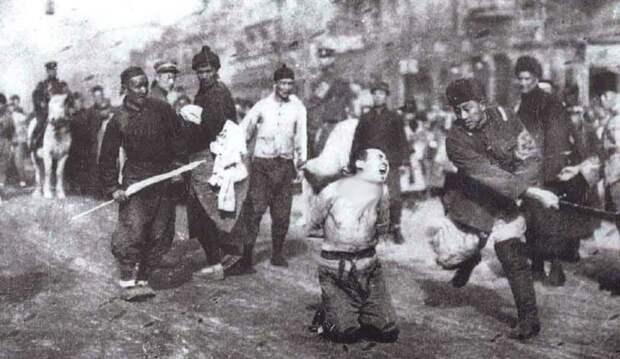 Бойня в Нанкине война, страшно, фото