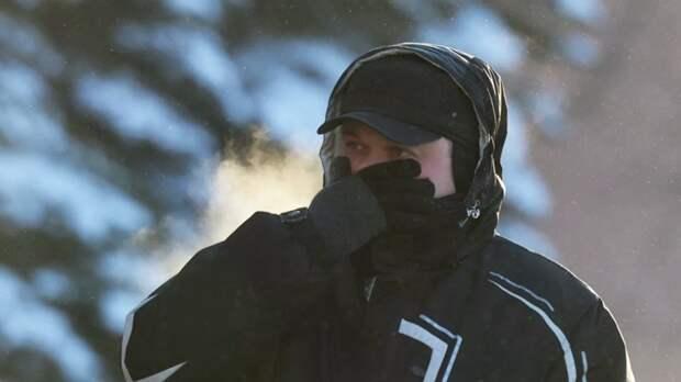 В Челябинской области предупредили о морозах до -35 °С