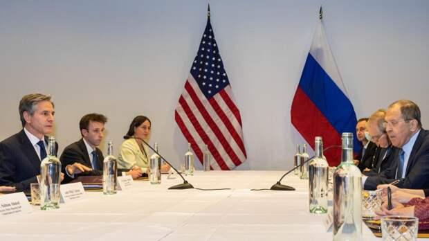 Юсин: Лавров и Блинкен попытались убрать лишние раздражители из отношений РФ и США