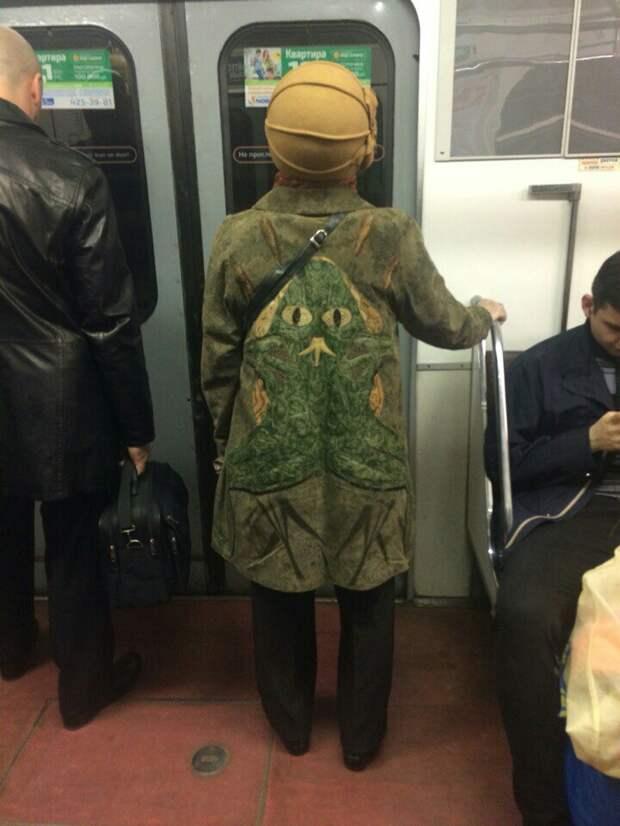Царевна Лягушка в метро