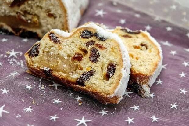 Классический рецепт рождественского кекса «Штоллен» от Юлии Высоцкой