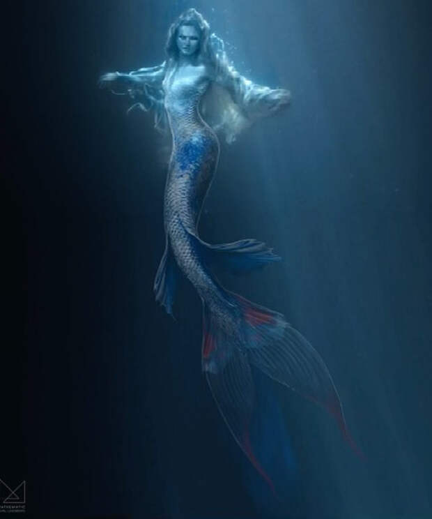 Страшно красива: Бехати Принслоу снялась в образе русалки в новом клипе Maroon 5