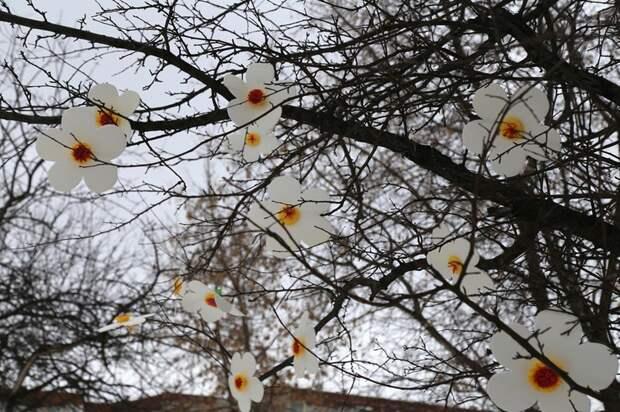 Крымскую аллею в Ижевске украсили цветами