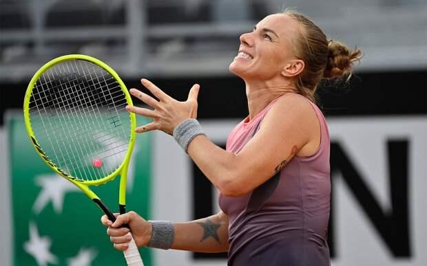 Светлана Кузнецова снялась с турнира в Мадриде