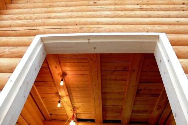 Двери, окна, обсада: Строительство гостевого домика (часть 3)
