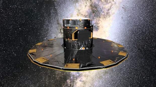 Космос вокруг нас. Новые данные телекопа Gaia