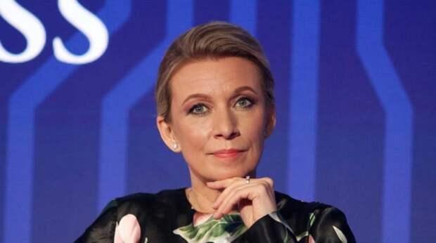 Захарову поразила разная реакция Запада на два инцидента с самолетами Ryanair