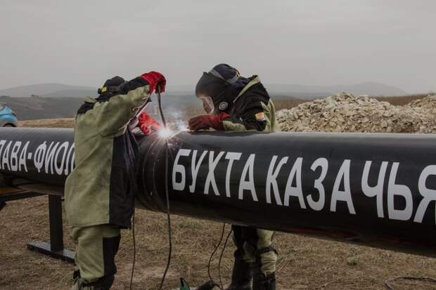 Севастополю нарисуют новый кольцевой газопровод за 33 миллиона рублей