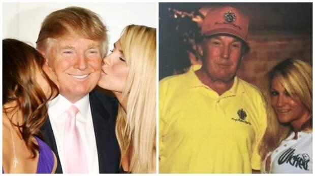 """Порнозвёзды, которых """"осчастливил"""" Трамп Трамп, знаменитости, интересное, порнозвезды, связь, факты, фото"""