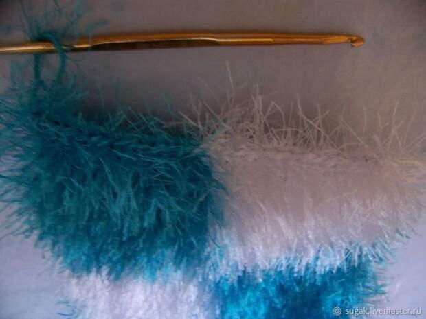 Вяжем кошелёк с фермуаром «Танцующие облака», фото № 9