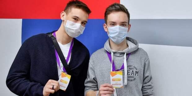Собянин открыл молодежный волонтерский центр на Ленинградском проспекте