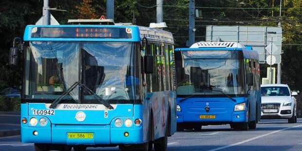 Время отправления последних автобусов в Строгине изменится с 14 июля
