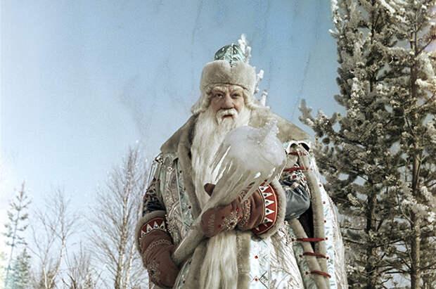 Актер Александр Хвыля в роли Морозко в одноименном фильме, 1964 год.