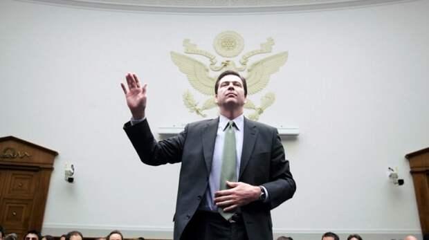 Глава ФБР провел для Конгресса трехчасовой секретный брифинг по теме России