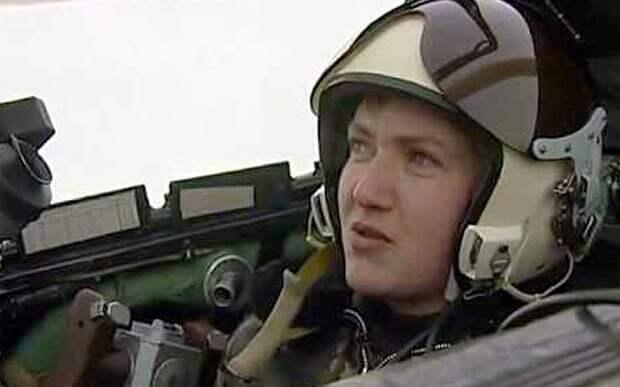 Савченко призналась в готовности бомбить Крым в 2014-м