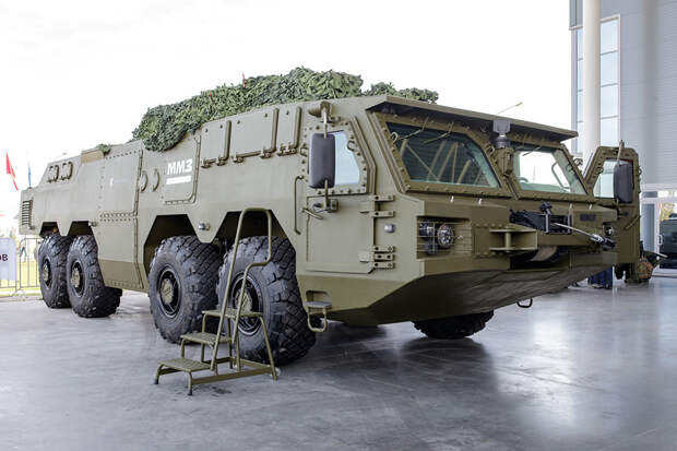 Новое шасси может стать основой для плавающих систем ПВО и РСЗО