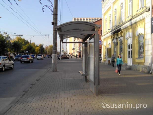 Остановки общественного транспорта в Ижевске хотят отдать в концессию