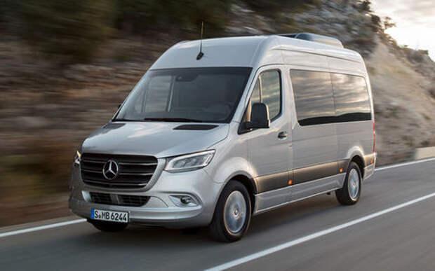 Mercedes-Benz снова отзывает в России Sprinter
