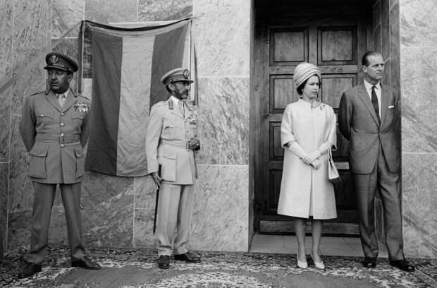 Королева Елизавета II в Эфиопии