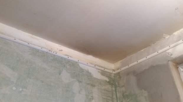 Подготовка к крепежу и крепёж натяжные потолки, потолок, ремонт