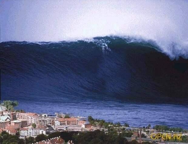 Волны-убийцы настигают внезапно