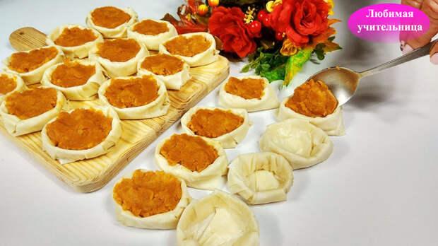 Фото к рецепту: Пирожки с картошкой - питакия