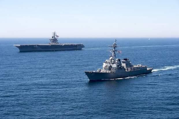 Вашингтон бросает вызов Москве в Черном море