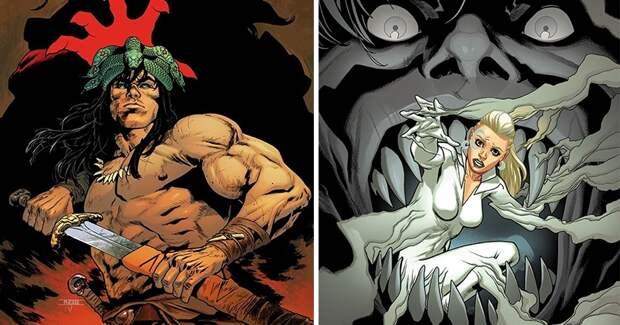 Конан, Тор, Бэтмен и другие эпичные герои в работах классика комиксов Махмуда Асрара