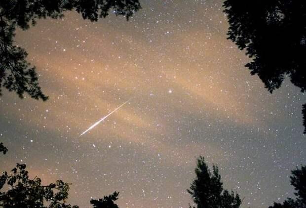 В Астрахани этой ночью можно увидеть звездопад
