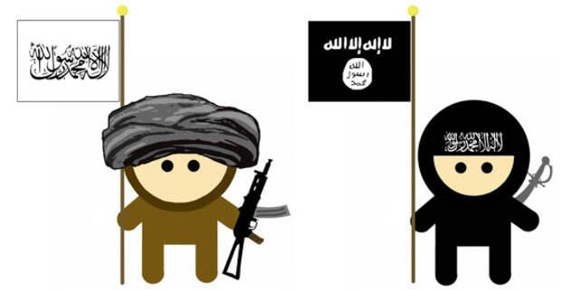 """ИГ и талибы объявили друг другу """"священную войну"""""""